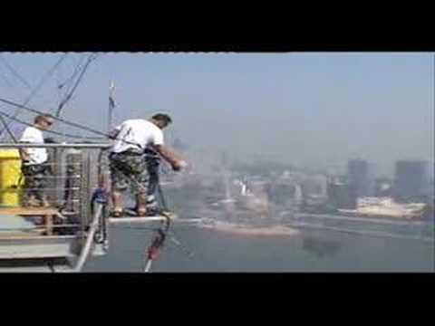 Macau Bungy jump - World-s Tallest Bungy