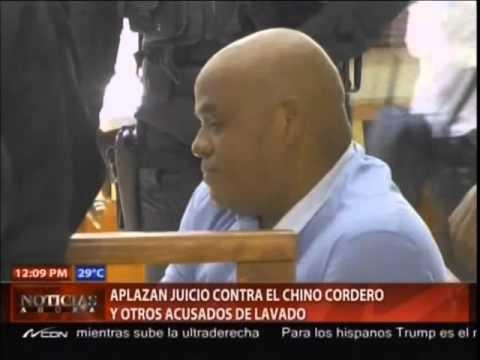 """Aplazan juicio de fondo contra """"El Chino"""""""
