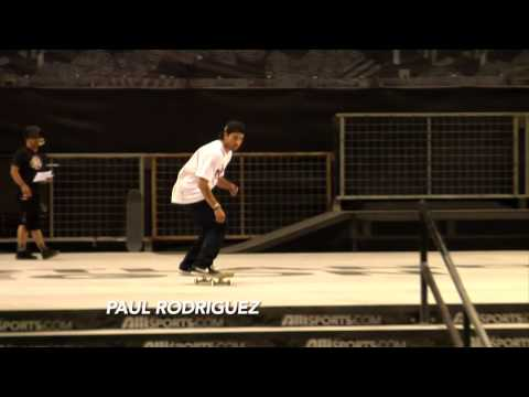 Dew Tour - Portland Skateboard Street Semi-Final Highlights - P-Rod, Ryan Decenzo, Manny Santiago (2011)