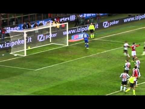 Mario Balotelli second  goal vs. UDINESE (HD)