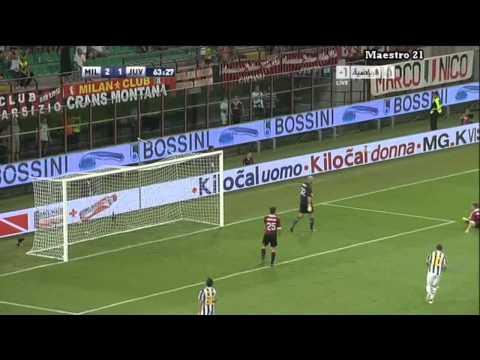 Highlights AC Milan 2-1 Juventus - 21/08/2011
