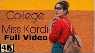 College Miss Kardi (Official Video)Raashi Sood Navi Ferozpurwala  Love Story Big Studios
