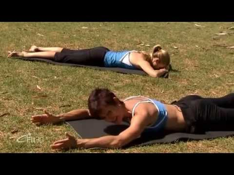 Pilates Flat Abs Workout Full 30 minutes - eFit30 - Reloaded
