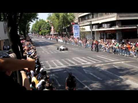 F1 - Sauber C29 demo with Sergio Perez - Guadalajara - In action