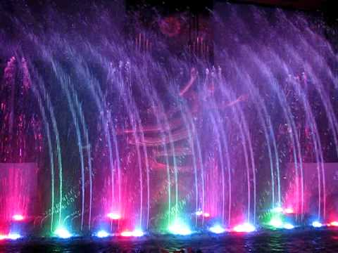 New york - New york ~ fountain ~ air mancur menari