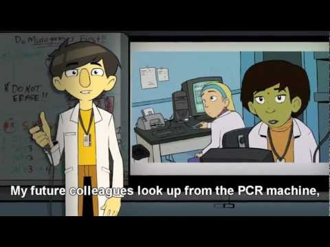 &quot;The Ph.Diddy is on the scene&quot; - Animation of life in the biotech lab