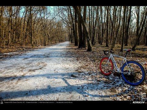 VIDEOCLIP Plimbare de decembrie cu bicicleta la Padurea Baneasa [VIDEO]
