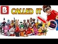 Lego Batman Movie Collectible Minifigures Revealed + Star Wars Marvel Technic and more! | Lego News