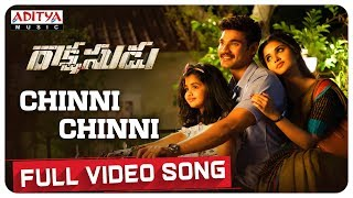 Chinni Chinni Full Video Song || Rakshasudu