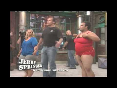 Jerry Springer Booty Shaking Contest
