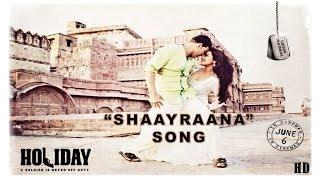 Holiday - Shaayraana