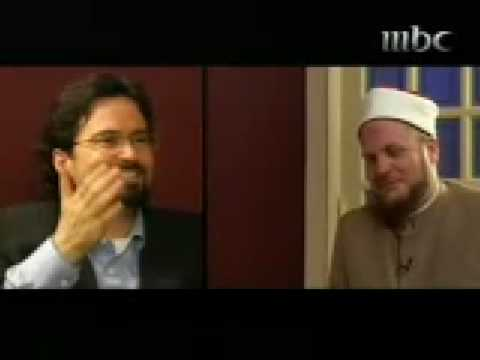 Hamza Yusuf Suhaib Webb Conversation - [English Subtitles] Part ONE