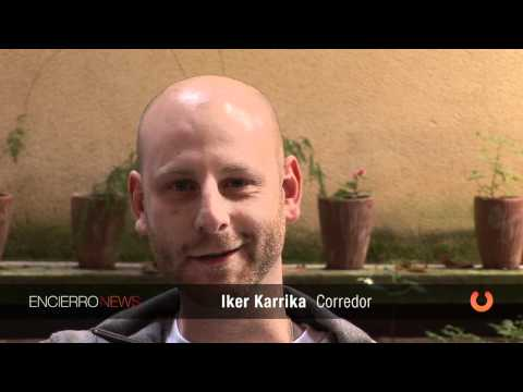 Iker Karrika ¿qué sientes en el Encierro?