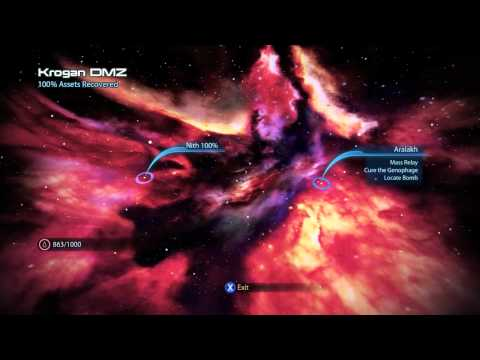 Mass Effect 3 Scanning Guide -- Krogan DMZ