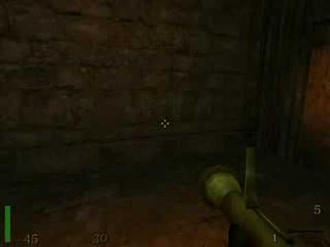Return to Castle Wolfenstein: map 25 - RTCW