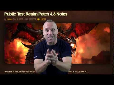 World of Warcraft Swifty 4.3 Patch Prep (wow gameplay/commentary)
