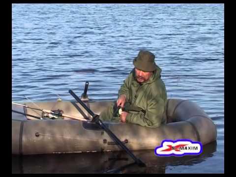 рыбная ловля с лодки видео
