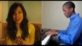"Alicia Keys ""No One"" (cover by Bridget & Fozoh)"