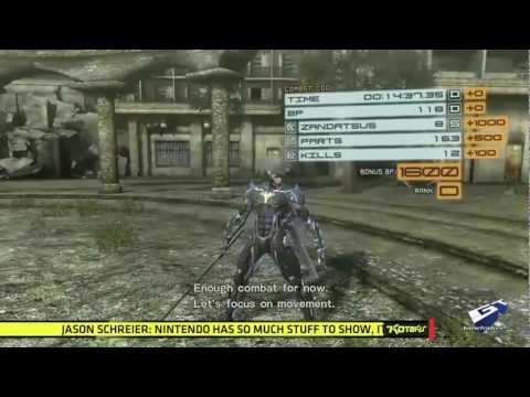 Metal Gear Rising: Revengeance - E3 2012: Action Controls Walkthrough