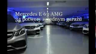 Garaż marzeń, czyli 34 Klasy E 63 AMG w jednym miejscu