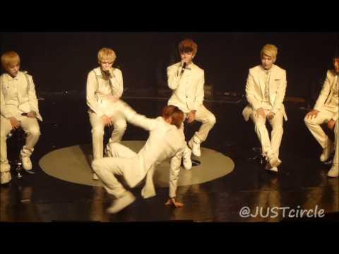 [Fancam] 120706 JongUp Dancing & Zelo Beatboxing (BAP Showcase @ Malaysia)
