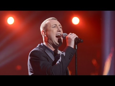 Christopher Maloney sings Total Eclipse Of The Heart - Live Week 7 - The X Factor UK 2012