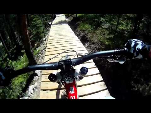 Winter Park - Trestle Park - GoPro HD - Downhill Mountain Bike