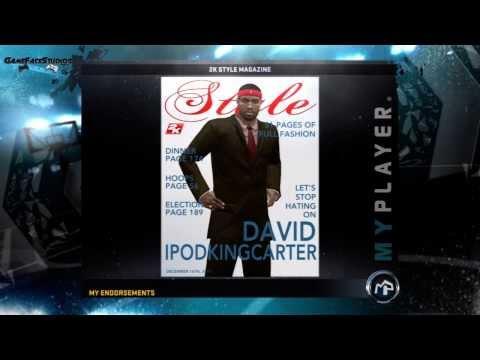 NBA 2K12: My Player - 2K Style Magazine Endorsement Feat. My Athletic PG
