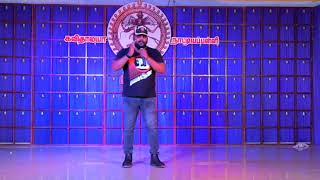 Johny master sensational speech in our dance school day held at Anjugramam  on 22.05.2019