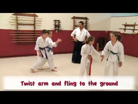 Aikido for Kids - Some Basic Aikido Techniques - Vook