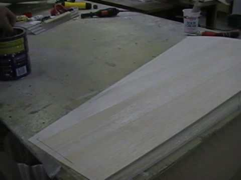 Sheeting a foam wing part 6