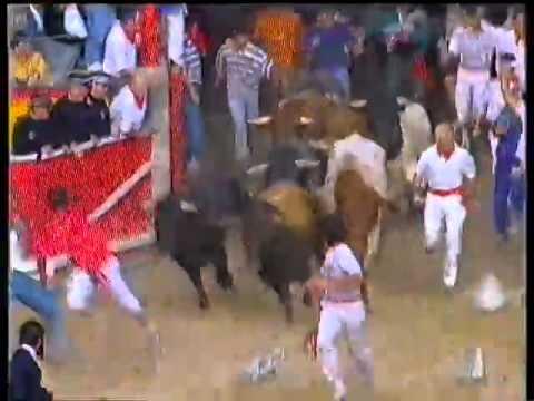 Encierro San Fermín   12 de julio de 1992 480p