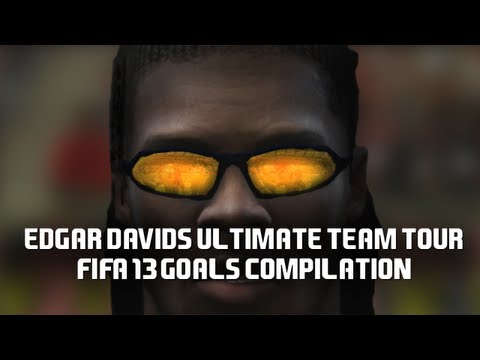 Edgar Davids Ultimate Team Tour - FIFA 13 Online goals Compilation
