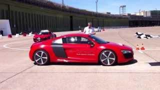Audi R8 e-tron - zobacz jak przyspiesza
