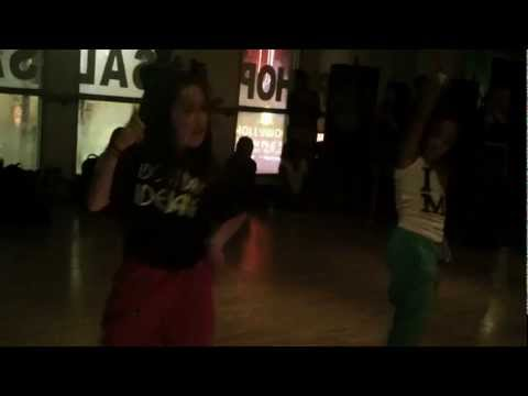"Charlize Glass - Chris Brown ft. Rihanna ""Turn Up the Music"" Choreography Dejan Tubic"