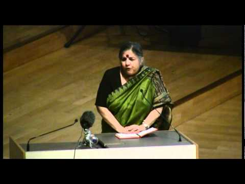 Vandana Shiva speaks about the lunacy of economic growth