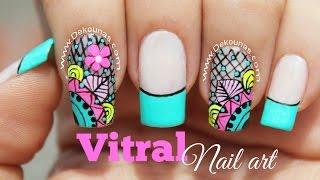 Youtube Decoracion De Unas Atrapasuenos Dreamcatcher Nail Art