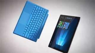 Vidéo : Clavier Microsoft Surface Pro 4