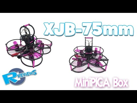XJB 75mm fully protected PICA box MiniQuad frame - UCv2D074JIyQEXdjK17SmREQ