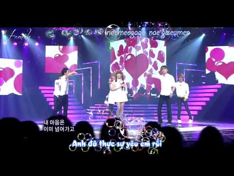 Kissing you IU và ft Teen Top LIVE Vietsub