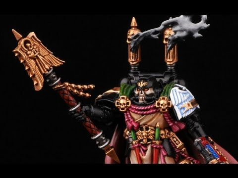 How to paint Interrogator Chaplain Seraphicus? Warhammer 40k Dark Angels Buypainted