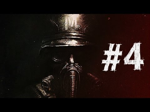 Metro Last Light Gameplay Walkthrough Part 4 - Torchlight - Chapter 4