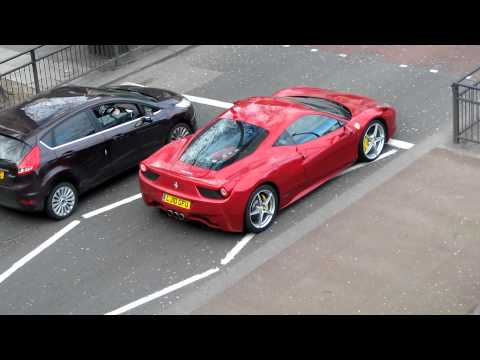 Ferrari 458 Italia little acceleration-Full HD