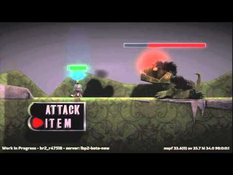LittleBigPlanet 2 - RPG Concept UPDATED (LBP2 Beta Level) (HD)