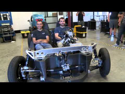 3D Printed Car: First Drive