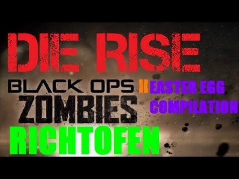 Die Rise Easter Egg High Maintenance Achievement Compilation Guide (Richtofen's Side)