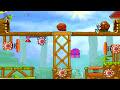 Фрагмент с конца видео 🐾 Мультик Игра. Улитка Боб идет к Дедушке. snail bob 2 часть 2