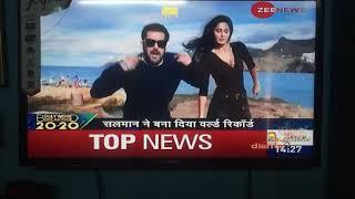 World record is Salman Khan tiger zinda hai