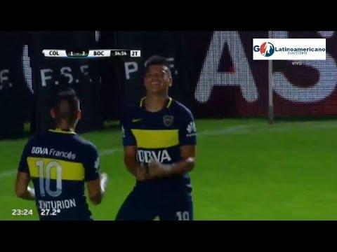 Boca 2 Colón 1 - Copa Loteria de Santa Fe.