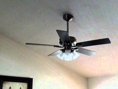 Crazy ceiling fan